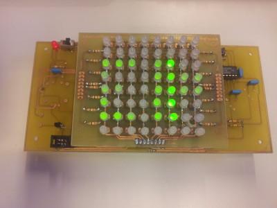 8x8 2-Color Led Matrix with ATmega328P (Arduino compatible) [130146-I]