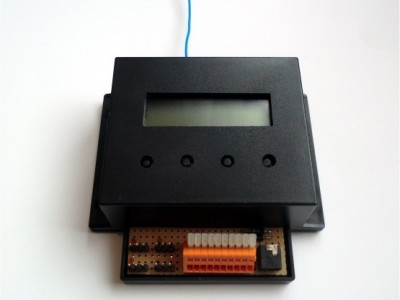 Wireless temperature measure modul for heating systems