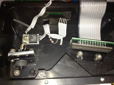 Laser distance meter with Ardino interface.