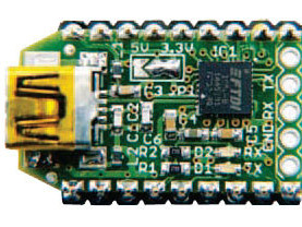 FT232R USB/Serial Bridge/BoB (110553)