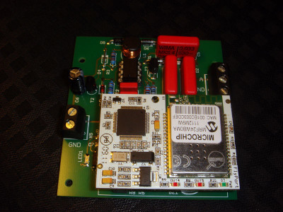Geiger Counter Data Logger with WLAN Interface