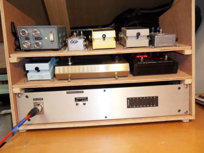 Guitar & guitar gear control system