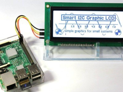 Smart I2C interface for graphic LCDs [160545]