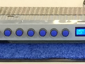 Raspberry as a Midi Audio Controler for a Valve Preamplifier for Electric Guitar or any audio project