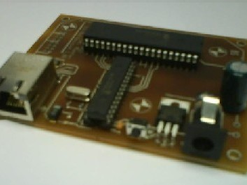 Ethernet interface for PIC micro controller with ENC28J60 (DIL) in Assembler