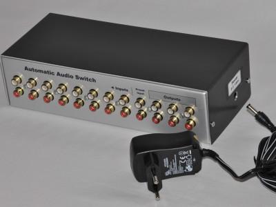 Automatischer Audio-Umschalter