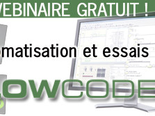 Webinaire gratuit : automatisation et essais avec Flowcode V6