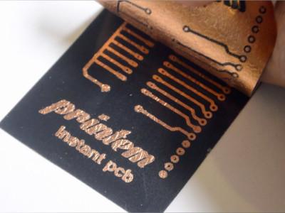 Fabrication « minute » de CI avec une imprimante à jet d'encre !