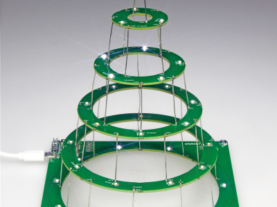 Circular Christmas Tree [150453]
