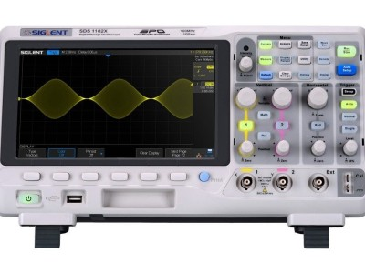 Banc d'essai : oscilloscope SDS1102X de Siglent
