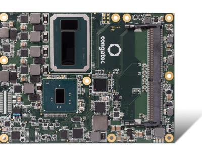 congatec dope l'informatique embarquée  à base de modules haut de gamme