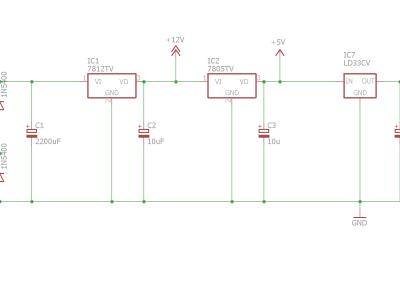 Power supply schematics