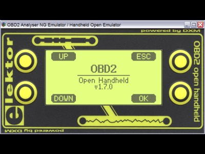 Firmware Update and Emulator for OBD2-Analyser NG / Wireless OBD2