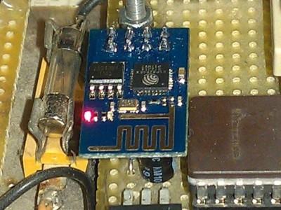 DCF77 emulator with ESP8266