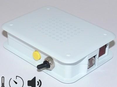 Programmable Refrigerator Watchdog in Raspberry Pi Box [130382]