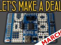 1x Project in March = 1x LPC800 Mini-Kit