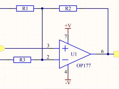 Op Amp output Converter