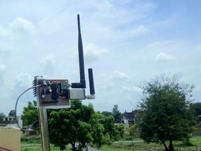 Very long range remote telemetry using LoRa Repeater