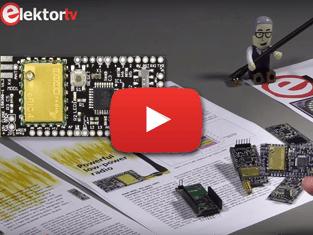 Elektor.TV   eRIC Nitro, energiezuinig Arduino-compatibel radio-transceiverboard