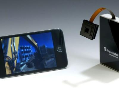 Facetoog voor smartphones en robots