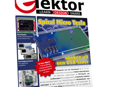 Het nieuwe Elektor-magazine november/december 2017 is nu verkrijgbaar