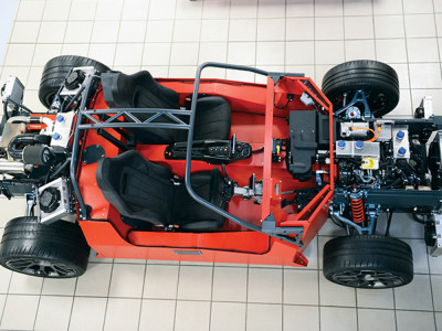 Ariel Hipercar: Elektrisch voertuig van 0 naar 100 km/h in 2,5 seconden