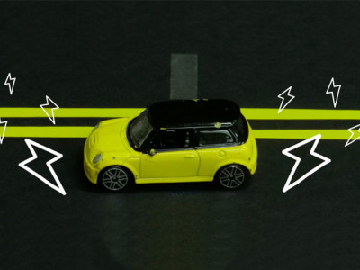 Elektrische auto's opladen tijdens de rit?
