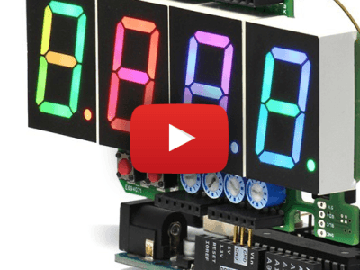 Full colour 7-segment-display: meer dan de cijfers