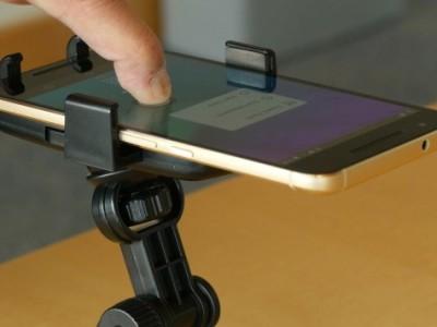 Software maakt elke smartphone drukgevoelig