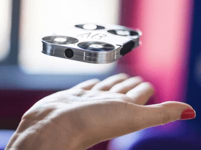Selfies uit de lucht schieten