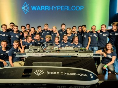 Technische Universiteit van München wint Hyperloop-snelheidswedstrijd