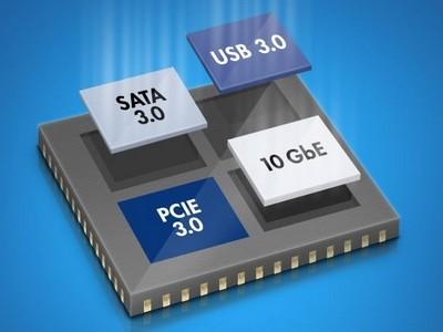 Klokgenerator-IC levert 12 verschillende frequenties