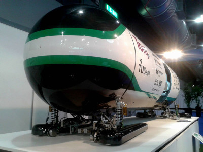 Hyperloop Pod-competitie gewonnen door TU Delft