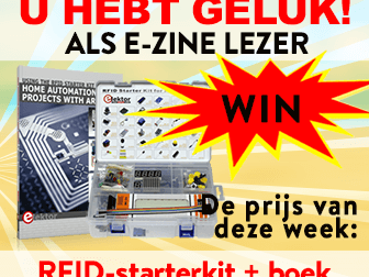 Win een RFID-starterkit voor Arduino en bijbehorend boek