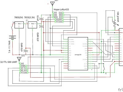 Repeater schematic