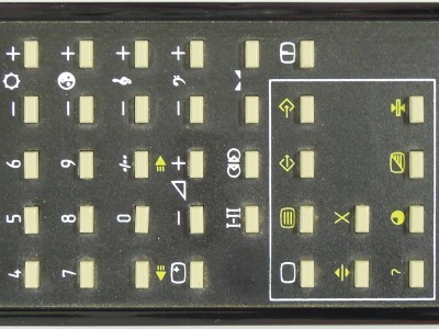 Old replacement remote control (RC5)