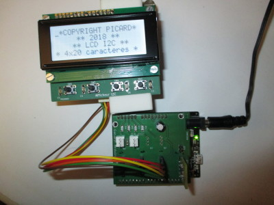 Display LCD 4x20 I2C new