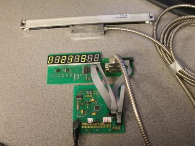 SAMD20  Machine Tool Digital Readout