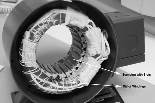 Microchip BLDC motor