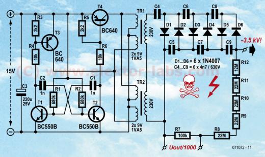 071072-11 elektor air ioniser