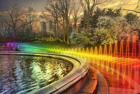 Wi-FI Signal Central Park, New York City