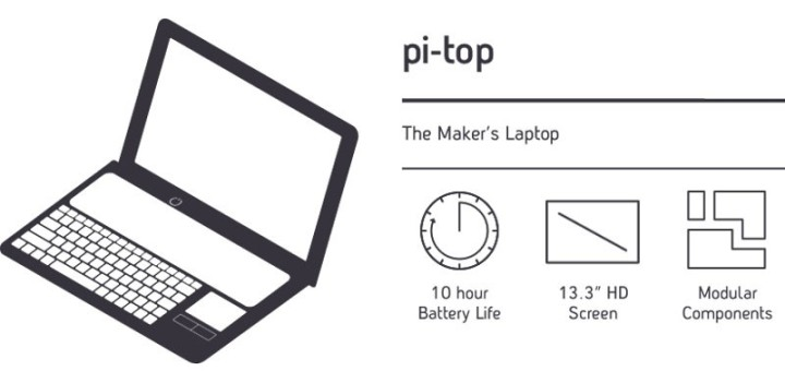 The pi-top Raspberry Pi laptop in some short specs now at Elktor Store as well!