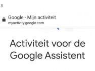 Zo verwijder je je stemopnamen van Google Assistent via Google Home