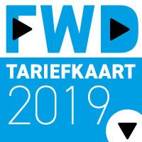 Foto FWD tariefkaart