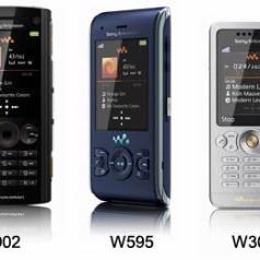Sony Ericsson toont nieuwe Walkman-lijn