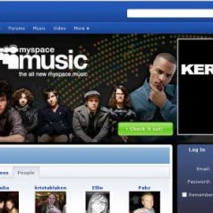 Myspace Music van start