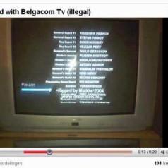 Belgacom TV toont illegale ondertitels