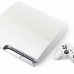 Witte PS3 Slim voor Japanners
