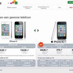 Mobistar toont prijzen iPhone 4