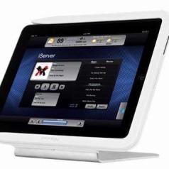 Crestron bouwt docks voor de iPad